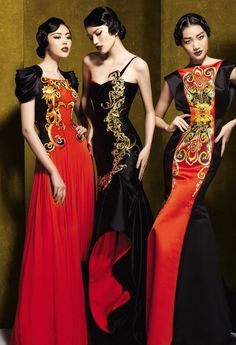 NE-Tiger is a Chinese couture brand with so many gorgeous things that I didn't know which to pick!