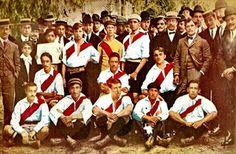EQUIPOS DE FÚTBOL: RIVER PLATE 1908