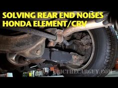 http://www.strictlyforeign.biz/default.asp Finding and Repairing Rear End Noise Honda Element/CRV -EricTheCarGuy