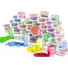 Shany Mineral Eye sparkle - Eyeshadow - Stack of 40 Favorite colors - USA Made $59.95