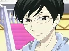 nonbinarycharacteroftheday:      Today's Nonbinary Character of the Day is: Kyoya Ootori from Ouran Highschool Host Club
