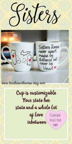 Sisters Gift Forever Never Apart Maybe By Distance But Heart