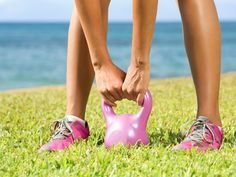 Train for an Obstacle Course With The Kettlebell Swing