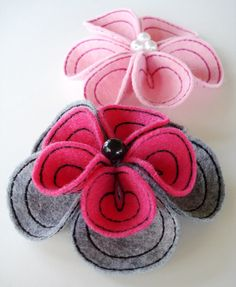 Embroidery Flower for Machine Embroidery  by DigitizedCreations, $3.99