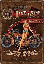 Cientos de ofertas con descuento y envío Gratis >>> Live The Legend Tin Sign Visita nuestra Ebay stores >>>