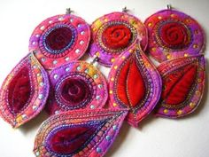 stunning embroidered felt by DogDaisyChains