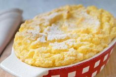 Sweet polenta casserole - recipe,Polenta is often served as a side dish. But it also tastes delicious as a dessert. Here is the recipe of the sweet polenta casserole. Mexican Corn Side Dish, Taco Side Dishes, Side Dishes Easy, Casserole Dishes, Casserole Recipes, Crockpot Recipes, Cooking Dishes, Food Dishes, Mexican Rice Recipes
