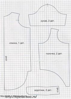 Free dog shirt-coat-sweater pattern & instructions
