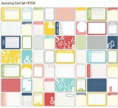 Simple Stories Life Documented Scrapbook #SimpleStories Journaling Card Set