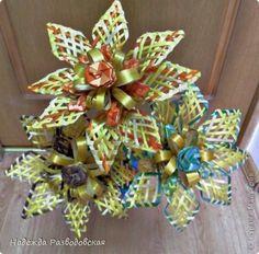 Поделка изделие Плетение Цветы из ржаной соломки Соломка фото 6