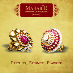 Dazzling,  Eternity,  Flawless collection of #MahabirDanwarJewellers