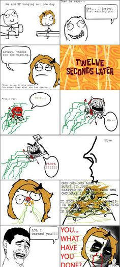 rage comics in a funny collection