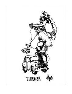 Pushwagner - Tanger II Graphic Artwork, Pop Art, Artists, Fine Art, Wall, Kunst, Walls, Visual Arts, Art Pop