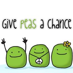 Give Peas a chance!  Go Natural!  #OnlyNaturalInc 516-897-7001