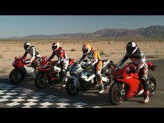 RSV4 vs S1000RR vs 1199 Panigale S vs F4R - European Liter Bike Shootout! On Two Wheels Episode 9 - YouTube
