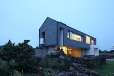 Pyeongdae house in Jeju island by Z_Lab