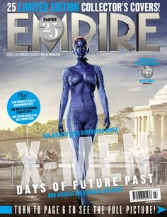 """Jennifer Lawrence as Mystique: 