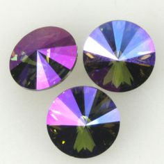 Eureka Crystal Beads - 1122 12 mm Rivoli LIGHT SAPPHIRE PURPLE HAZE Limited Edition Custom Coating Swarovski Crystal Stones (2), $3.15 (http://www.eurekacrystalbeads.com/1122-12-mm-rivoli-light-sapphire-purple-haze-limited-edition-custom-coating-swarovski-crystal-stones-2/)