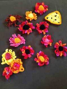 A native species of Virginia made for the Artisphere Yarn Bomb! Yarn Bombing, Blossoms, Crochet Earrings, Homemade, Crafty, Flowers, Projects, Log Projects, Blue Prints