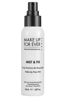 Make Up For Ever Mist & Fix - beat the summer heat with  makeup setting sprays