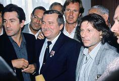 Robert De Niro, Lech Wałęsa, Wojciech Fibak, Roman Polański
