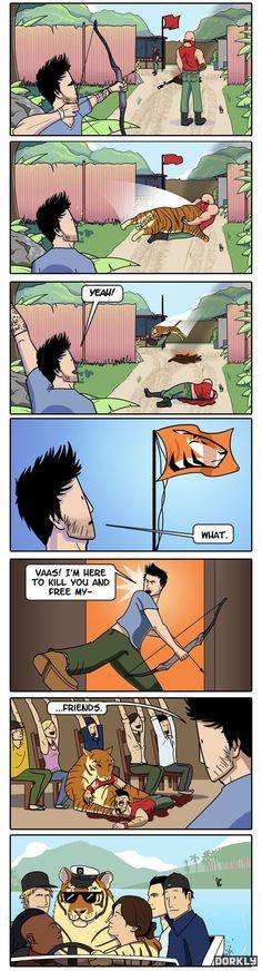 Ces foutus tigres dans Far Cry 3