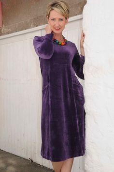 Brigid Foley boutique ladies fashion Tavistock Devon Tavistock, Ladies Fashion, Womens Fashion, Devon, High Neck Dress, Velvet, Boutique, Lady, How To Wear