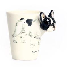 3-D Frenchie Mug