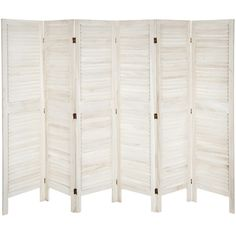 "Found it at Wayfair - 67"" x 100"" Tall Modern Venetian 6 Panel Room Divider"