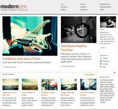 Modernizm Wordpress Theme