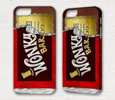 Willy Wonka iPhone Case for iPhone 5 4 4s 3g 3gs iPod Touch 5 4g with Stand Cool Cute Cell Phone Case Cover Golden Ticket iPhone 5 case. $17.50, via Etsy.