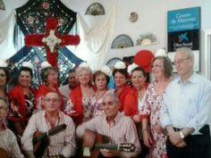 Bendicion de la Cruz de Mayo en el Centro de Día 1 de la calle Prim