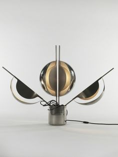 Jean Pierre Vitrac  Flower Lamp, 1970  Demisch Danant for Verre Lumiere