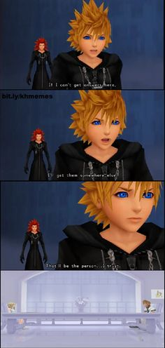 This kind of makes me sad... Really sad. I know Axel had lied to him and stuff, but he was still a good friend, right? But I also ship RokuNami so I can't really complain that she was the person he chose to trust.