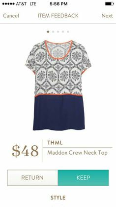 Love the pattern and colors on this shirt...AW