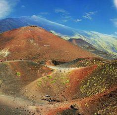 Mount Etna, Sicily                                                                                                                                                                                 Mais