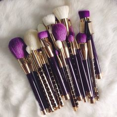 Sonia Kashuk brush set - so beautiful <3