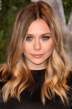 Elizabeth Olsen - Hair colour