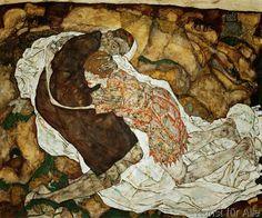 Egon Schiele - Der Tod und das Maedchen
