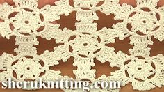 How to Join Floral Motifs Tutorial 2 Part 2 of 2 http://sheruknitting.com/videos-about-knitting/crochet-motifs-and-motif-joining/item/762-round-motifs-tutorial-2-part-2-of-2-joining-together-crochet.html In this tutorial I will continue working with round floral motif and show you how to join them together in order to create something larger.