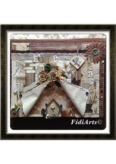 Altered canvas by Fidiarts©