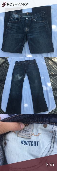 7 For All Mankind Jeans Size 28 7 For All Mankind Jeans Size 28. Great condition. Feel free to ask any questions :) 7 For All Mankind Jeans Boot Cut