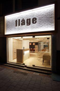 Hair flage|設計・デザイン実績|美容室|WHATS Inc./株式会社ワッツ