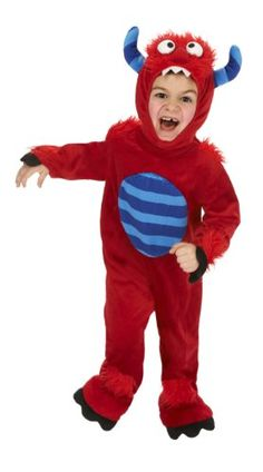 Just Pretend Kids Red Monster Animal Costume, Large *** Details can be found by clicking on the image.