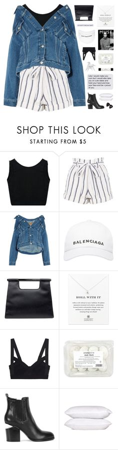 """light my body up"" by flying-baby-unicorn ❤ liked on Polyvore featuring Topshop, Balenciaga, Chanel, Dogeared, Murphy, Alexander Wang, philosophy, Hermès and bedroom"