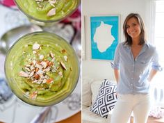 Avocado Breakfast Pudding from Lizzie of Tomboy Style    Breakfast with a Blogger - use coconut milk instead of dairy