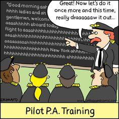 pilot pa training #aviationhumorlaughing