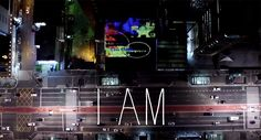 "Guto Requena's ""I AM"" Installation Lights Up Paulista Avenue with People's…"