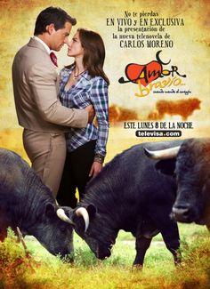 Telenovelas y Estrellas: Poster de Amor bravio cuando manda el corazon