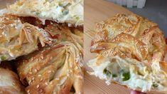 Μπουρεκάκια με λαχανικά και τυριά και τραγανό χειροποίητο φύλλο Feta, Lunch, Chicken, Eat Lunch, Lunches, Cubs